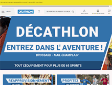 Tablet Preview of decathlon.ca
